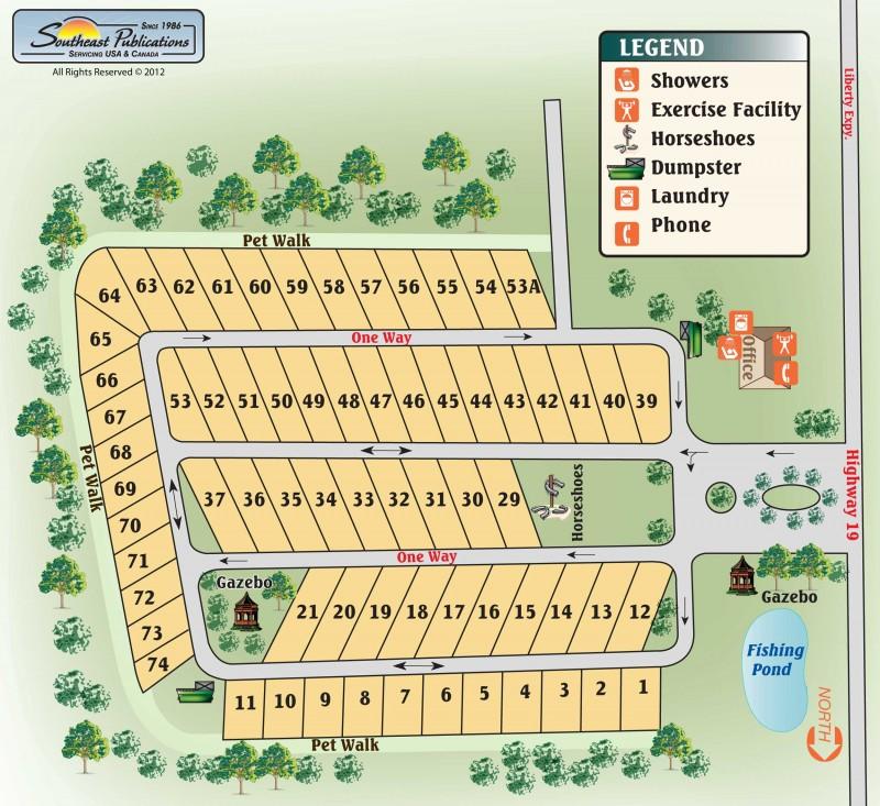 Albany RV Resort - Albany, GA - RV Parks