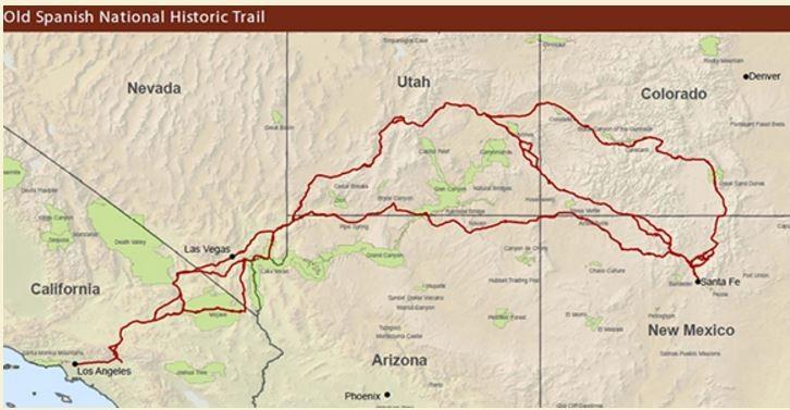 Rv Rental Santa Fe Nm >> Old Spanish National Historic Trail - Santa Fe, NM - Historic and Cultural Parks - RVPoints.com