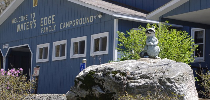 Waters Edge Family Campground - Lebanon, CT - RV Parks