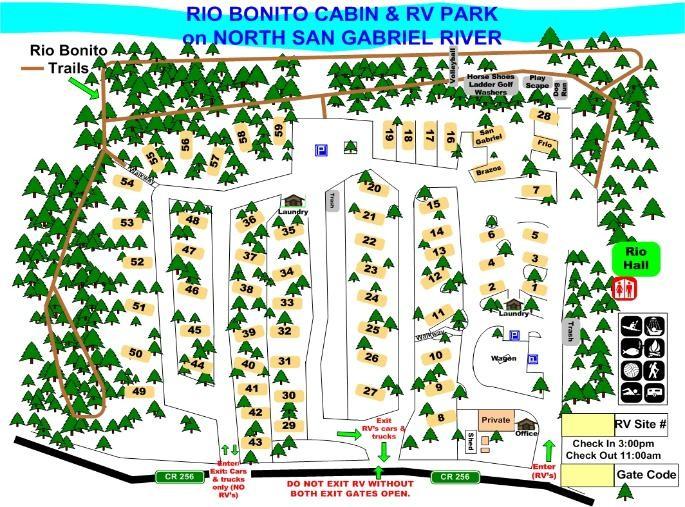 Rio Bonito Cabin & RV Park - Liberty Hill, TX - RV Parks