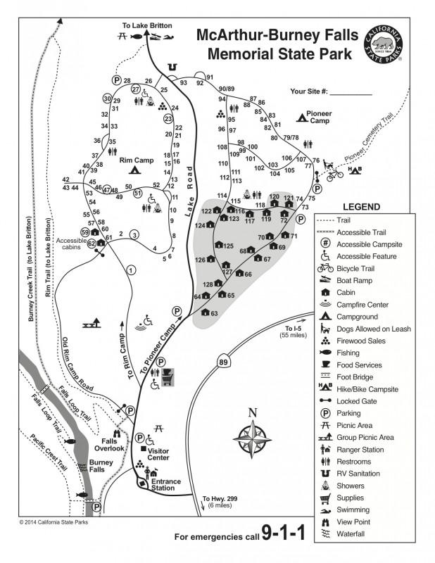 McArthur-Burney Falls Memorial State Park - Burney, CA - California State Parks