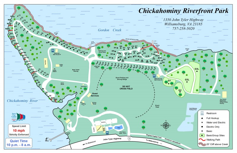 Chickahominy Riverfront Park - Williamsburg, VA - County / City Parks