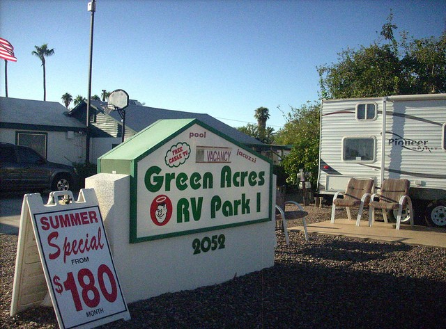 Green Acres RV Park - Mesa, AZ - RV Parks