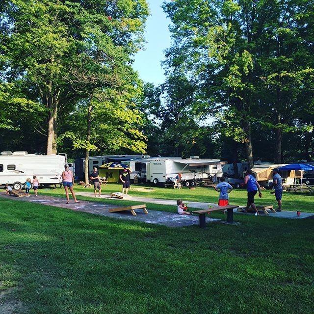 Dumont Lake Family Campground - Allegan, MI - RV Parks