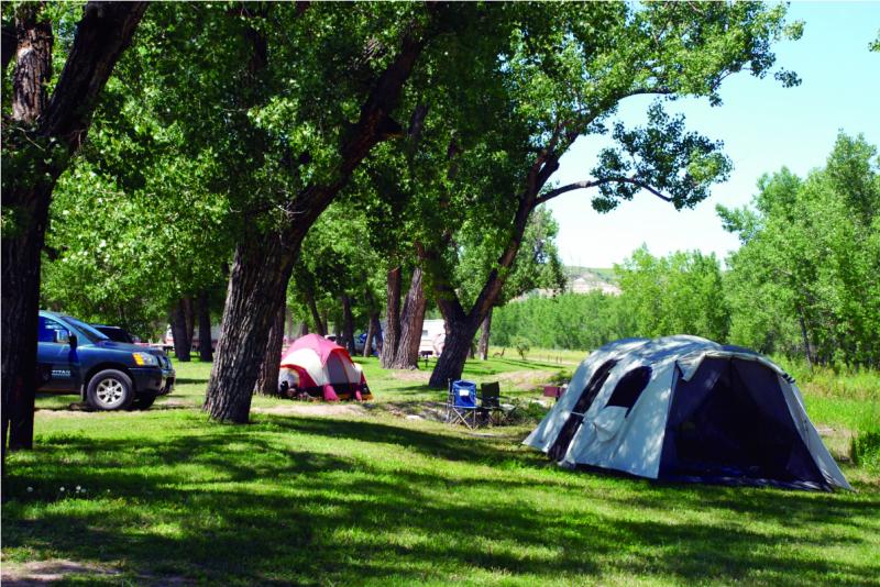 Medora Campground Medora Nd County City Parks