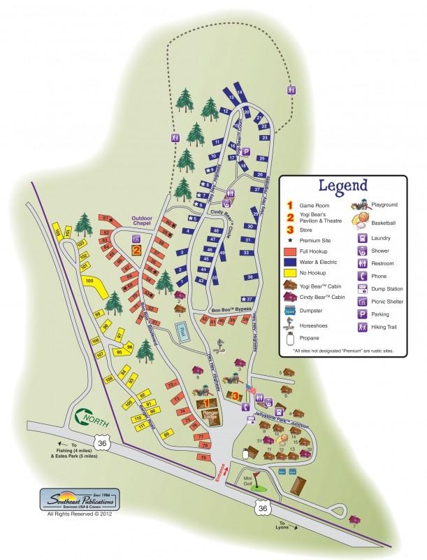 Jellystone Park of Estes - Estes Park, CO - RV Parks