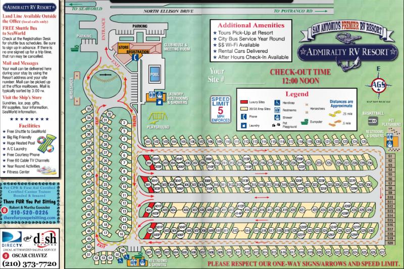 Admiralty RV Resort - San Antonio, TX - RV Parks