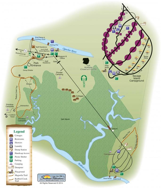 Fort McAllister State Historic Park - Richmond Hills, GA - Georgia State Parks