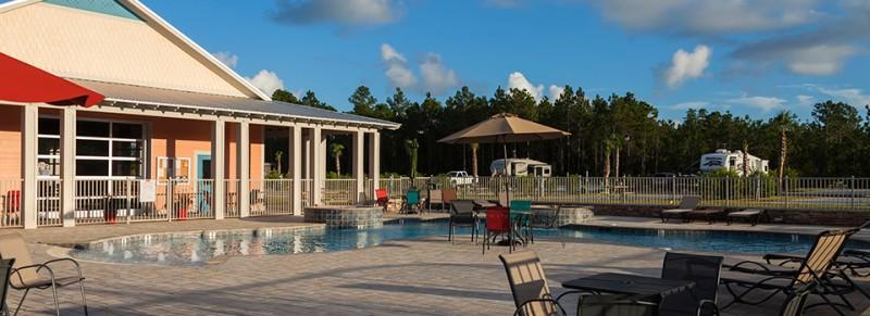 Sugar Sands RV Resort - Gulf Shores, AL - RV Parks