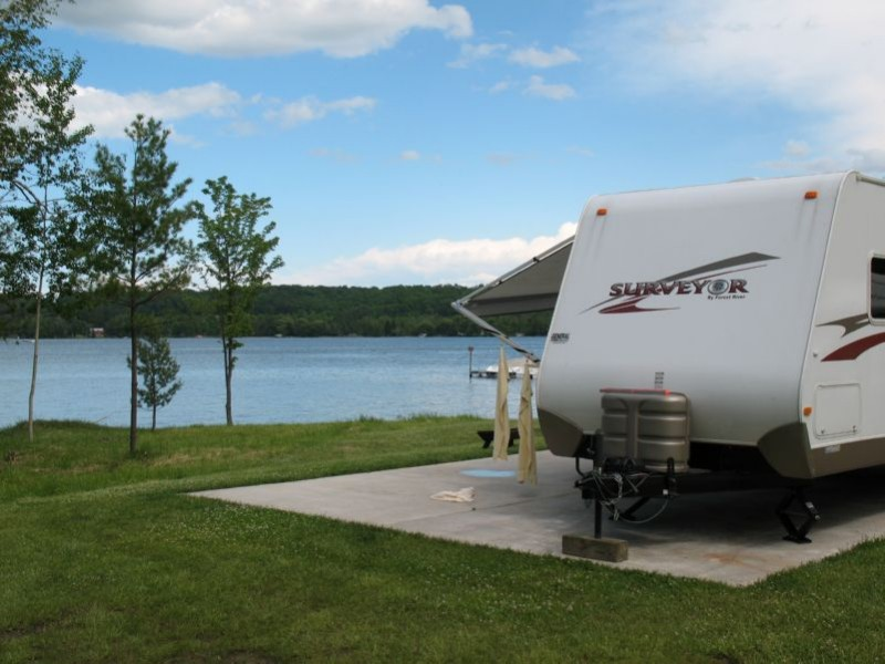 Lake Leelanau RV Park - Lake Leelanau, MI - RV Parks