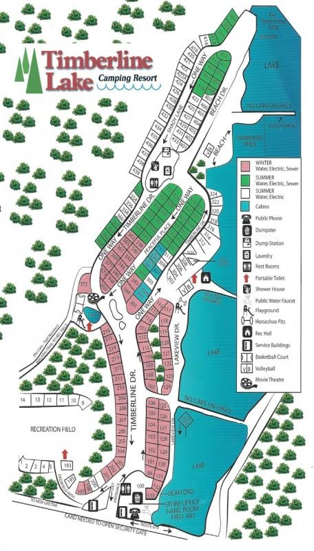 Timberline Lake Camping Resort - New Gretna, NJ - RV Parks