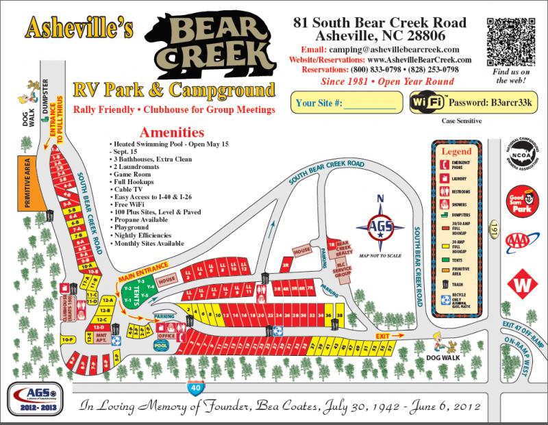 Bear Creek RV Park - Asheville, NC - RV Parks - RVPoints.com