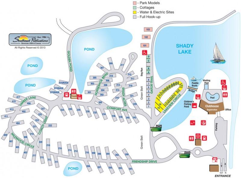 Abita Springs RV Resort  - Abita Springs, LA - RV Parks