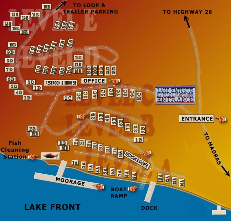 Lake Simtustus RV Park - Madras, OR - RV Parks - RVPoints com