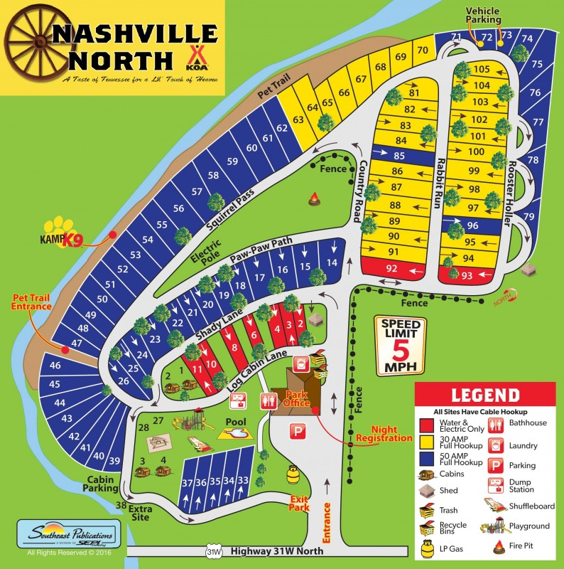 Nashville KOA - Nashville, TN - KOA