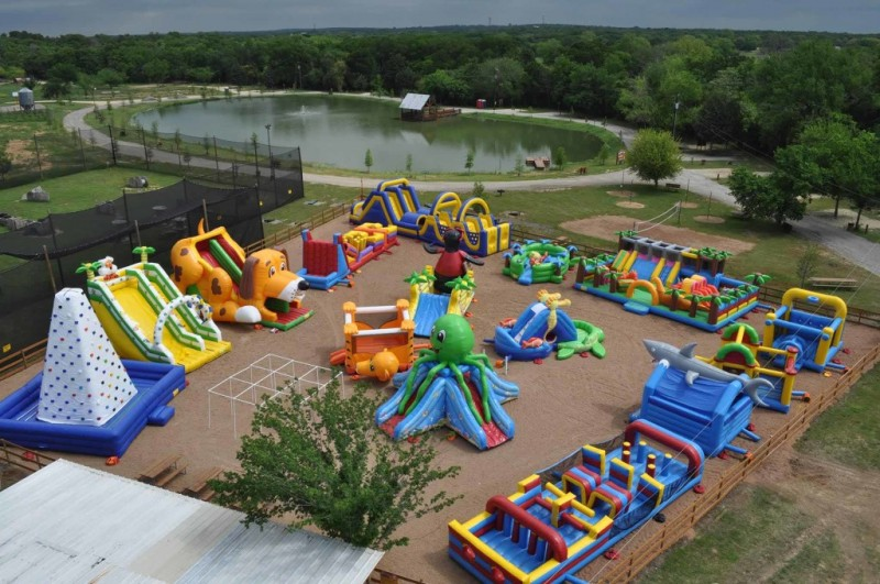 Yogi Bears Jellystone Park North Texas Camp Resort - Burleson, TX - Yogi Bear's Jellystone
