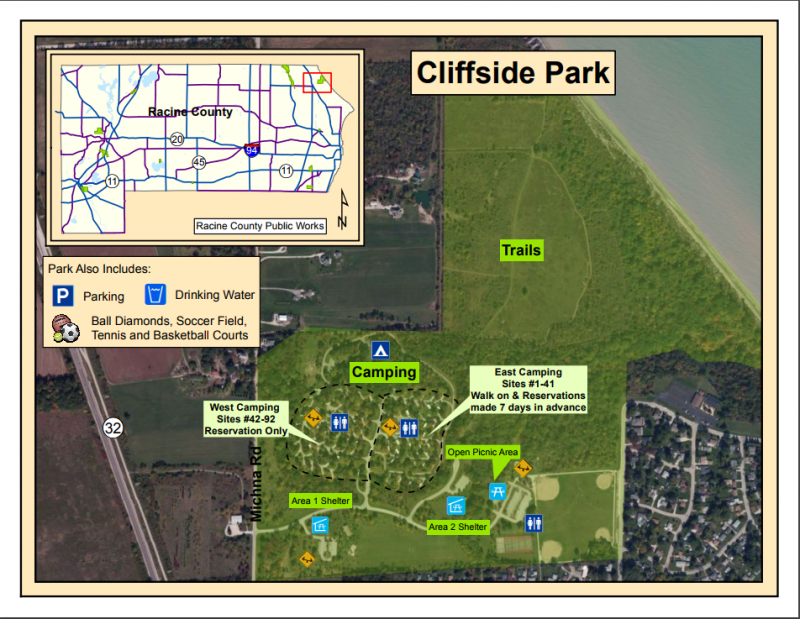 Cliffside Park Racine Wi County City Parks