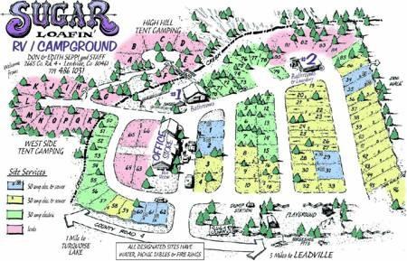 Sugar Loafin' Campground - Leadville, CO - RV Parks
