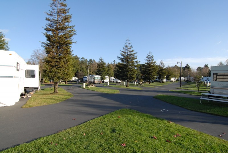 Riverwalk RV Park - Fortuna, CA - RV Parks