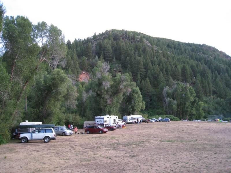 Weber Memorial Park Campground Huntsville Ut County