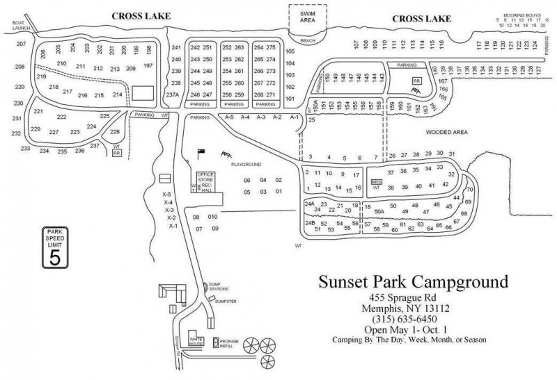 Sunset Park Campground - Memphis, NY - RV Parks