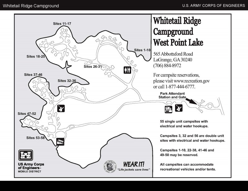 Whitetail Ridge Camp Ground - La Grange, GA - RV Parks