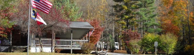 Nelson 39 s nantahala hideaway campground topton nc rv for The cabins at nantahala