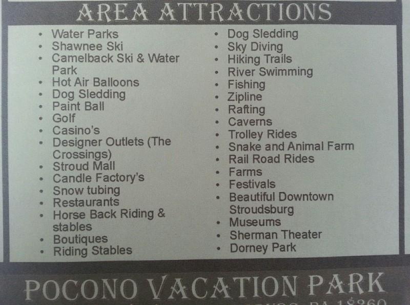 Pocono Vacation Park Rv Campground - Stroudsburg, PA - RV Parks