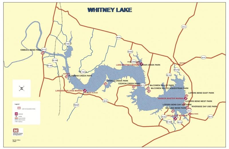 Whitney Lake - Clifton, TX - RV Parks
