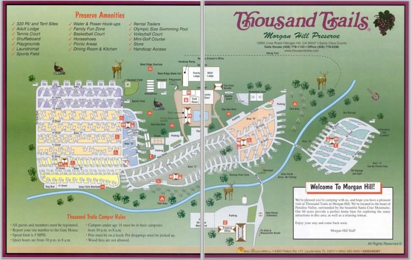 Morgan Hill Rv Resort Morgan Hill Ca Thousand Trails