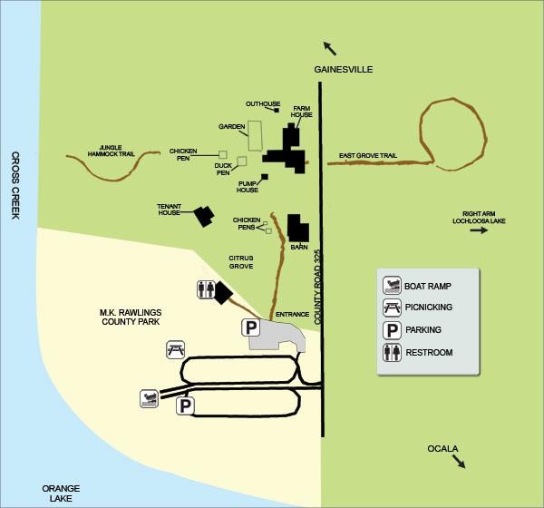 Marjorie Kinnan Rawlings Historic State Park - Cross Creek, FL - Florida State Parks