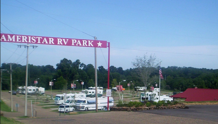Ameristar Rv Park Vicksburg Ms Rv Parks Rvpoints Com