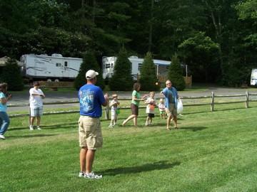 Raccoon Holler Campground - Jefferson, NC - RV Parks