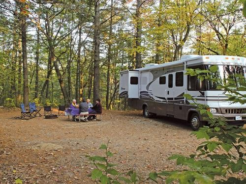 Danforth Bay Camping Amp Rv Resort Freedom Nh Rv Parks