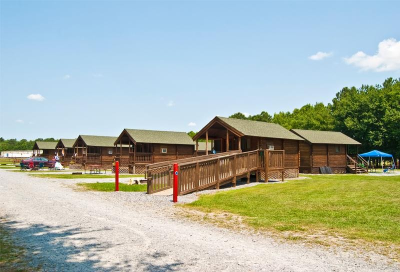 Fort Whaley Campground - Cabin Rental, Whaleyville, MD