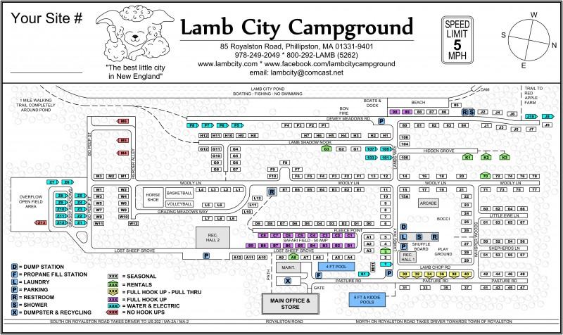 Lamb City Campground - Phillipston, MA - RV Parks