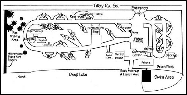Deep Lake Resort - Olympia, WA - RV Parks