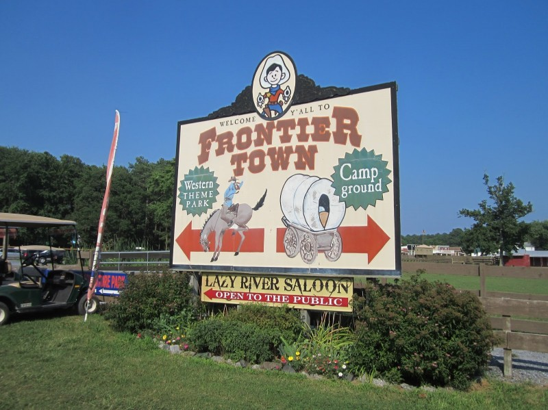 Frontier Town Campground Berlin Md Sun Resorts