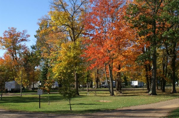 petes retreat family campground rv park aitkin mn rv parks