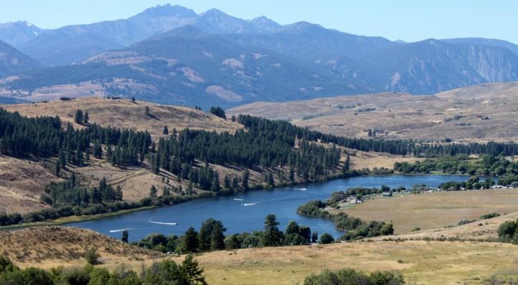 Pearrygin Lake State Park Winthrop WA Washington