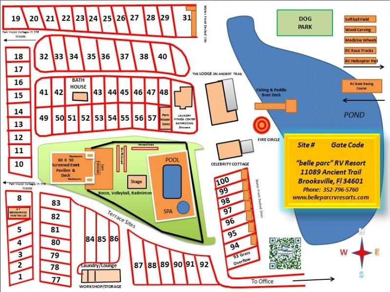 Belle Parc RV Resort - Brooksville, FL - RV Parks