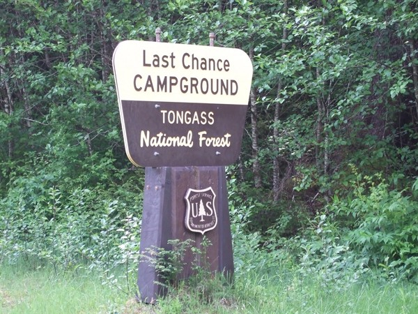 Last Chance - Ward Lake Recreation Area, AK - RV Parks