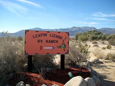 Leapin' Lizard RV Ranch - Borrego Springs, CA - RV Parks