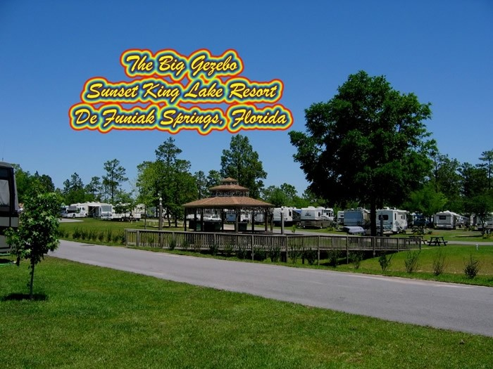 Sunset King RV Resort  - Defuniak Springs, FL - RV Parks