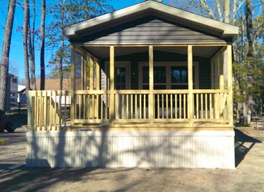 Driftwood RV Resort and Campground - Cottage Rental, Cape May, NJ