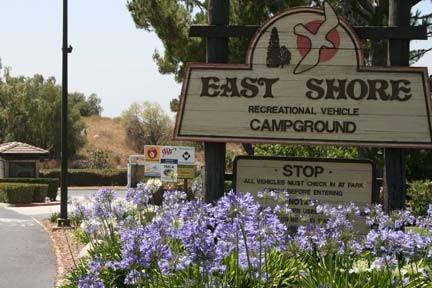 East Shore RV Park - San Dimas, CA - RV Parks - RVPoints.com