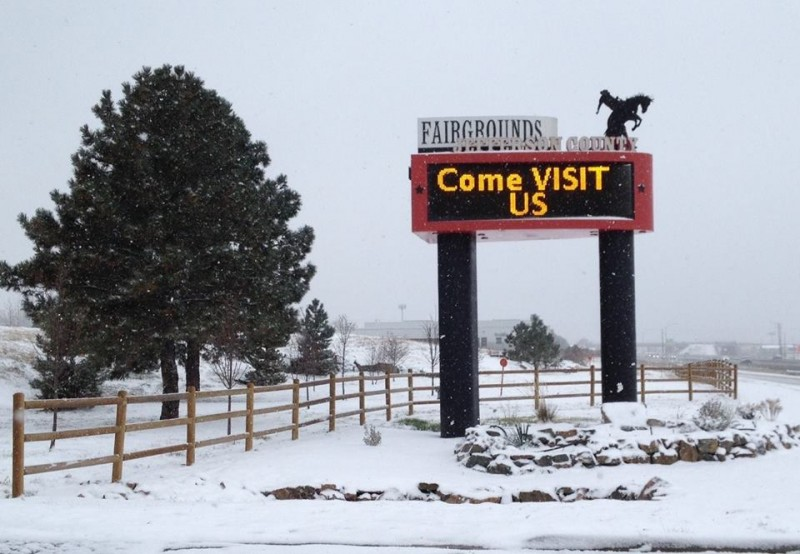 Jefferson County Fairgrounds Campground - Golden, CO - County / City Parks