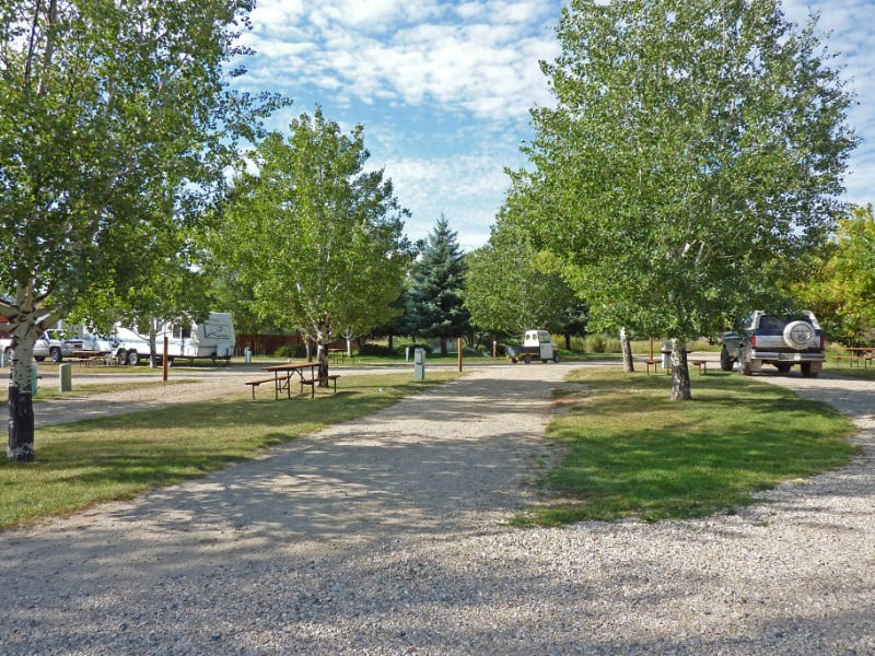 Twin Creeks Campground Buffalo Wy Rv Parks Rvpoints Com