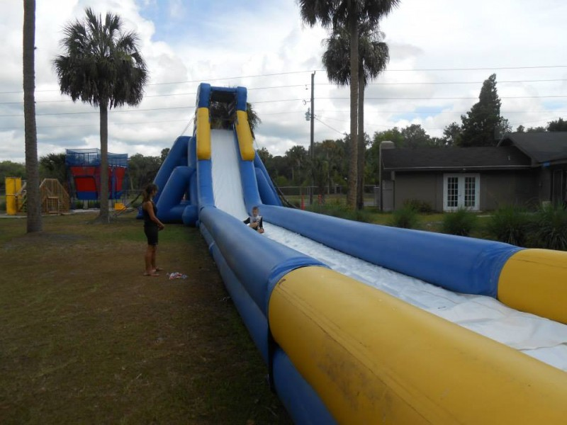 Wet Zone Family Adventure Camp - Lake Panasoffkee, FL - RV Parks