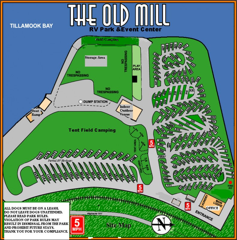 The Old Mill Rv Park Garibaldi Or Rv Parks Rvpoints Com
